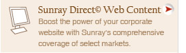 Sunray Direct Web Content